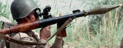 РПГ-7 при выстреле