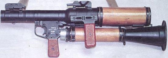 РПГ-7Д в походном положении