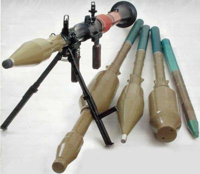РПГ-7 с гранатами