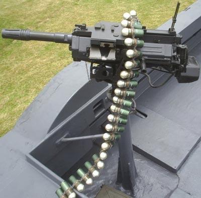 CIS 40 AGL установленный на боевом транспорте