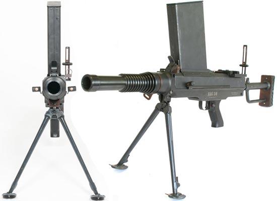 SAG-30 в боевом положении