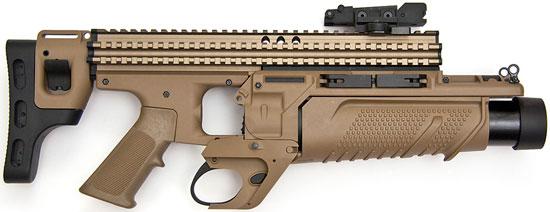 FN40GL-S в походном положении