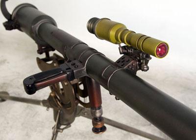 M18 Recoilless Rifle (вид на элементы управления)