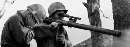 M18 Recoilless Rifle при использовании
