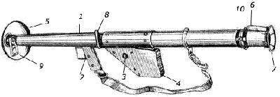 M1 устройство гранатомета