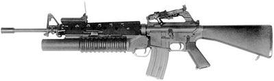 M203 установленный на М4А1