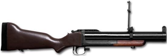 М79 в боевом положении
