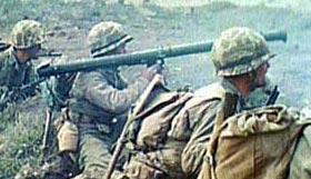 М9 при стрельбе