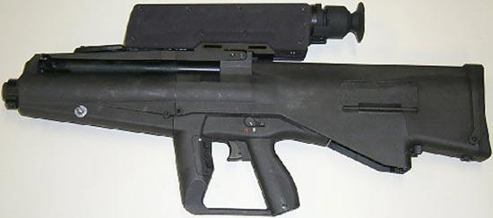Многозарядный гранатомет XM25