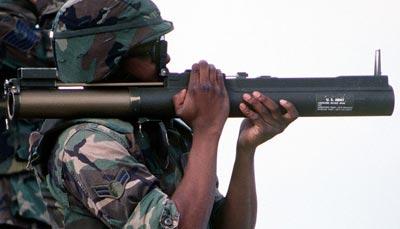 M72 LAW при использовании
