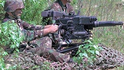 Mk.47 mod.0 при стрельбе