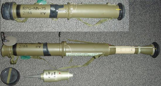 RPG-Nh-75 с гранатой (PrNh)
