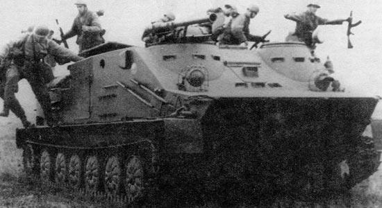 Tarasnice T21 на БТР ОТ-62