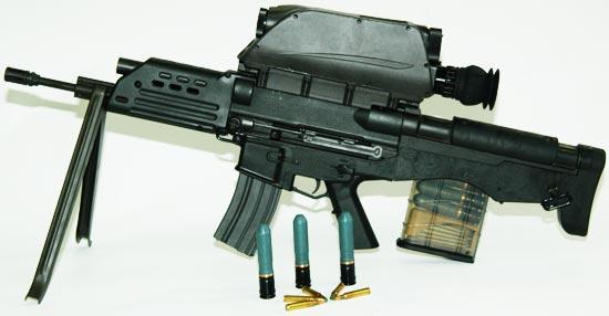 K11 с используемыми боеприпасами