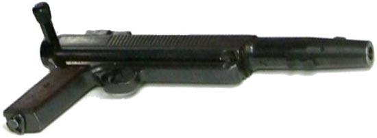 Гранатомет-пистолет «Дятел» / изделие «Д» без дульной насадки, кобуры-приклада и сошек