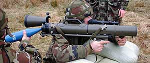 Carl-Gustaf М3 при заряжании