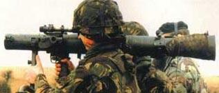Carl-Gustaf М3 при стрельбе