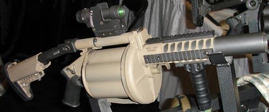 Milkor MGL Mk.1L/MGL-140