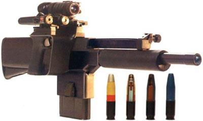 PAW-20 с ночным ИК прицелом и лазерным целеуказателем