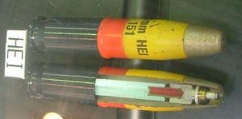 осколочно-зажигательные боеприпасы для PAW-20 (High Explosive Incendiary)
