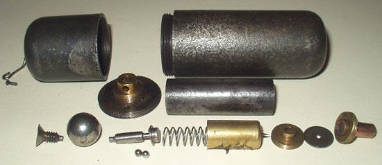 Handgranate M 16 / Sigaro основные компоненты
