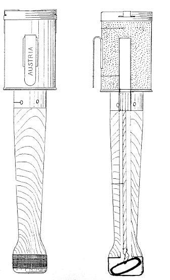 модификация Stielhandgranate 1-го типа