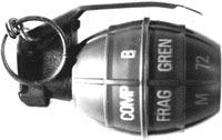 Ручная граната M72 / PRB Nr 423