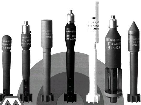 винтовочные гранаты фирмы «Mecar»