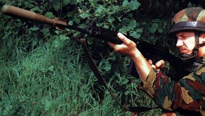 AP «TELGREN» FN при стрельбе
