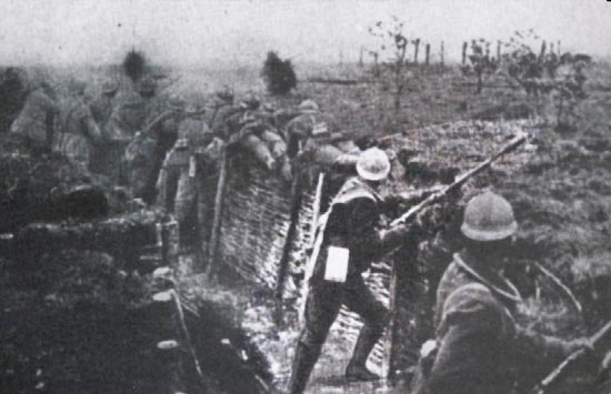 использование системы Viven-Bessiere во время Первой Мировой войны