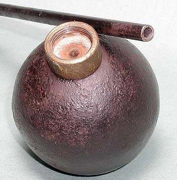 винтовочная граната образца 1914 года со свинченным шомполом