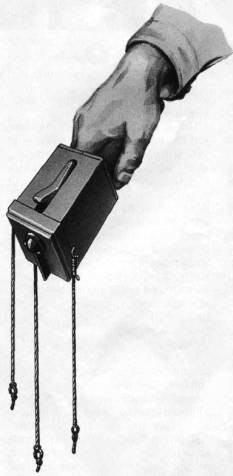 граната обр. 1912 г. со специальным приспособлением для удержания гранаты на проволочных заграждениях