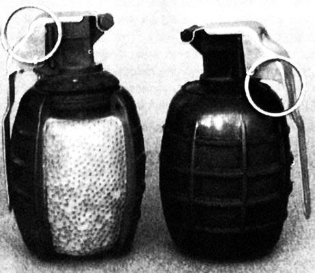 № 1 в варианте оборонительной гранаты