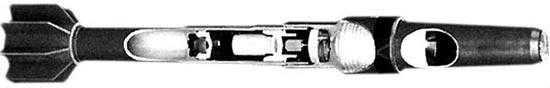 40-мм граната Luchaire в разрезе