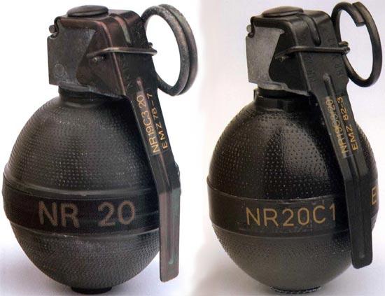 NR 20 (слева) NR 20 C1 (справа)