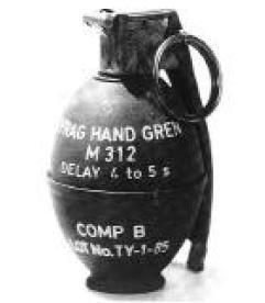 Ручная граната M312
