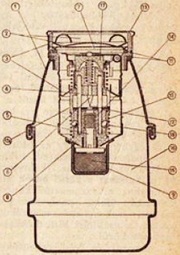 устройство гранаты 31 M