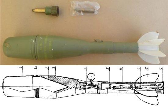 кумулятивная граната M-60