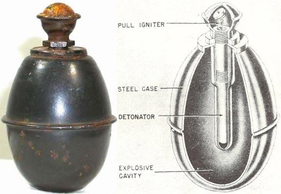 Eihandgranaten 39 (М-39)