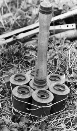 Stielhandgranaten 24 в связке для борьбы с бронированными целями