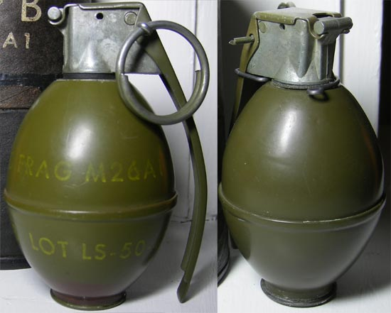 M26A1 (слева) M61 (справа)