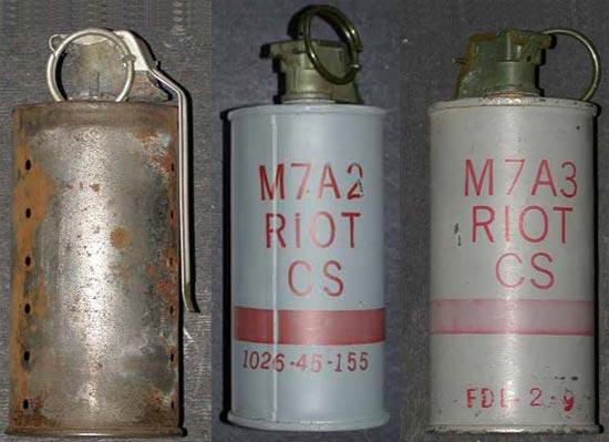 M7, M7A2, M7A3 (слева-направо)