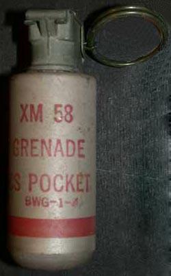 Ручная газовая граната XM 58