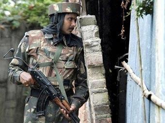 индийский солдат