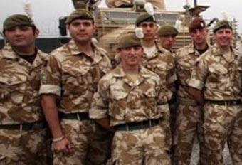 Британские военные в Афганистане