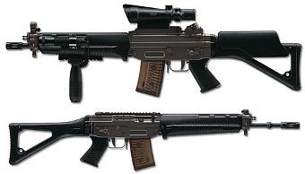 Автомат SG 551 SWAT производства Swiss Arms