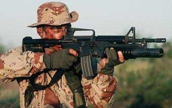 Автоматический карабин M4