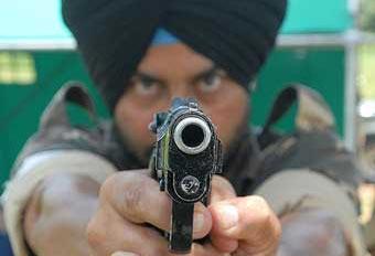 Индийский военнослужащий