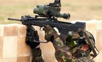 Оборудование для стрельбы из-за укрытий из комплекта FELIN