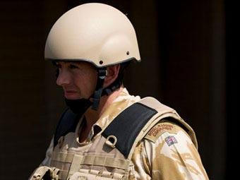 Британский военнослужащий